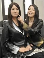 Geminoid F es la androide réplica de la hija del profesor Ishiguro