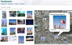 Panoramio.com: Permite ver fotos superpuestas a los mapas de Google
